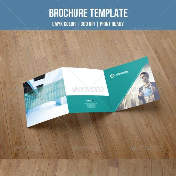 Square Trifold Brochure-V04