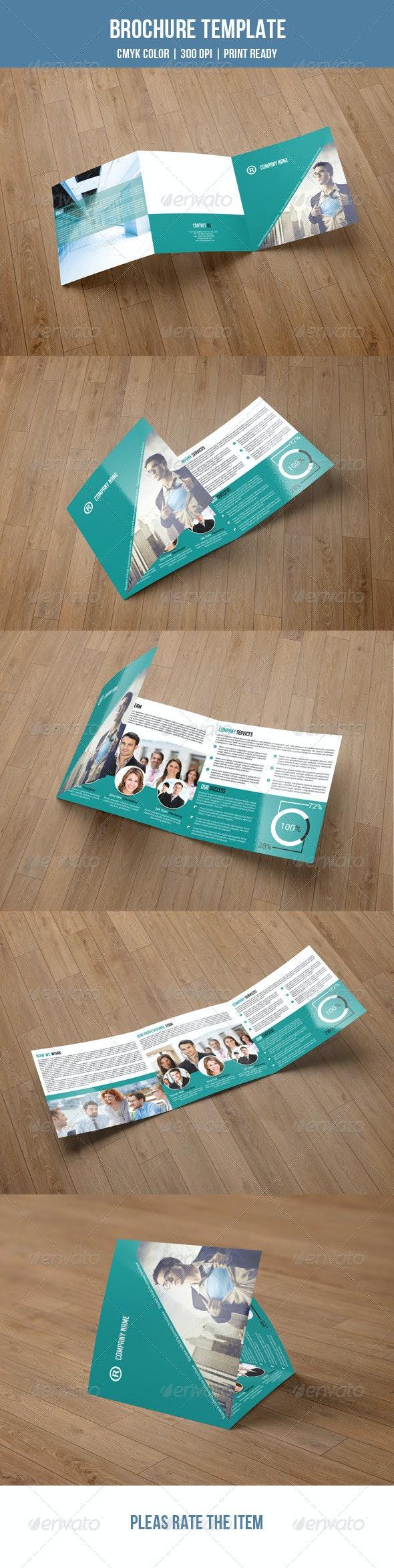 Square Trifold Brochure-V04 - Corporate Brochures