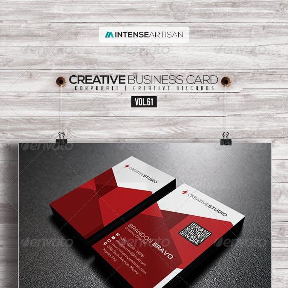 IntenseArtisan Business Card Vol.61