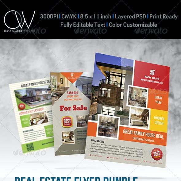 Real Estate Flyer Bundle Template Vol.2