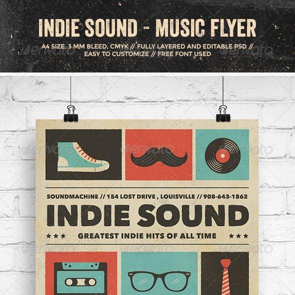 Indie Sound - Music Flyer/Poster