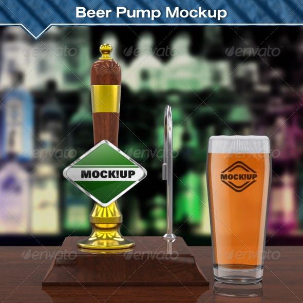 Beer Pump Mockup