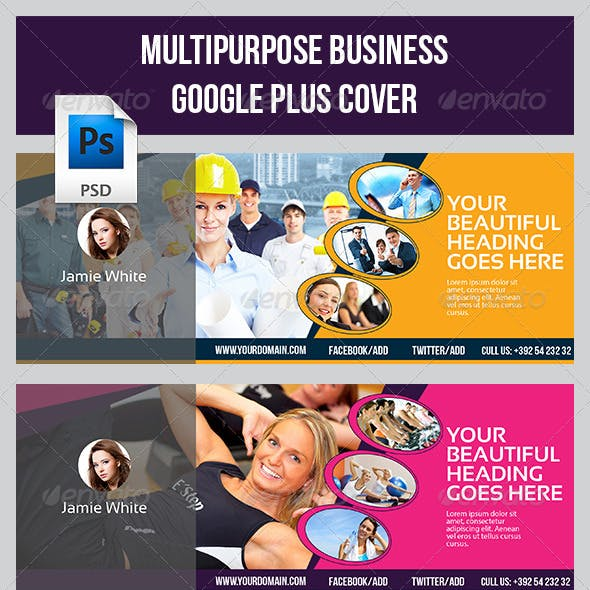 Google Plus Cover