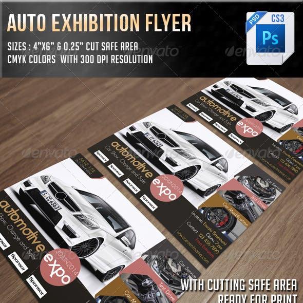 Auto Exhibition Flyer V10