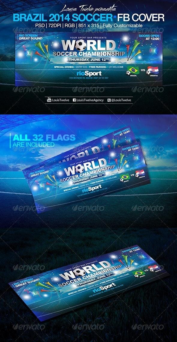 World Soccer Championship | Facebook Cover - Facebook Timeline Covers Social Media