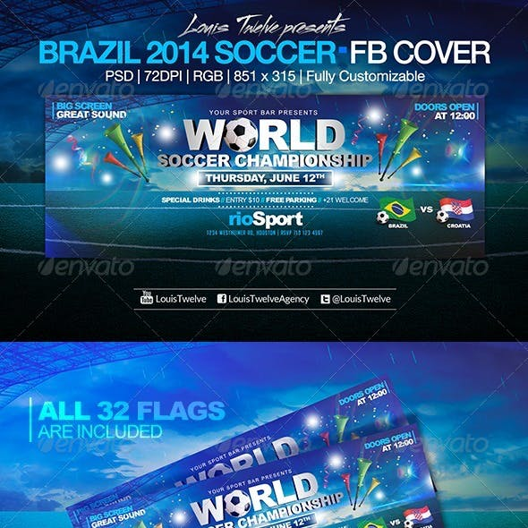 World Soccer Championship | Facebook Cover