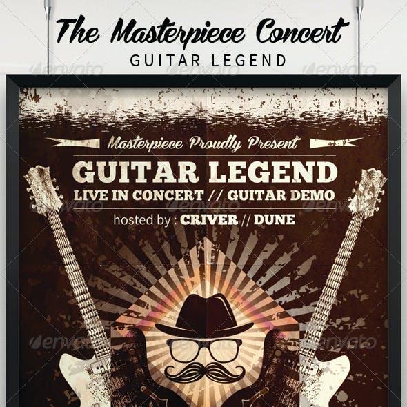 Guitar Legend Poster/Flyer