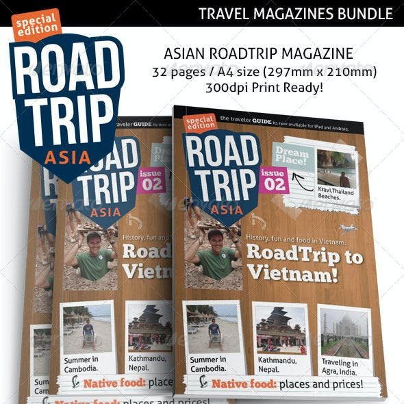 Travel Print Magazines Bundle