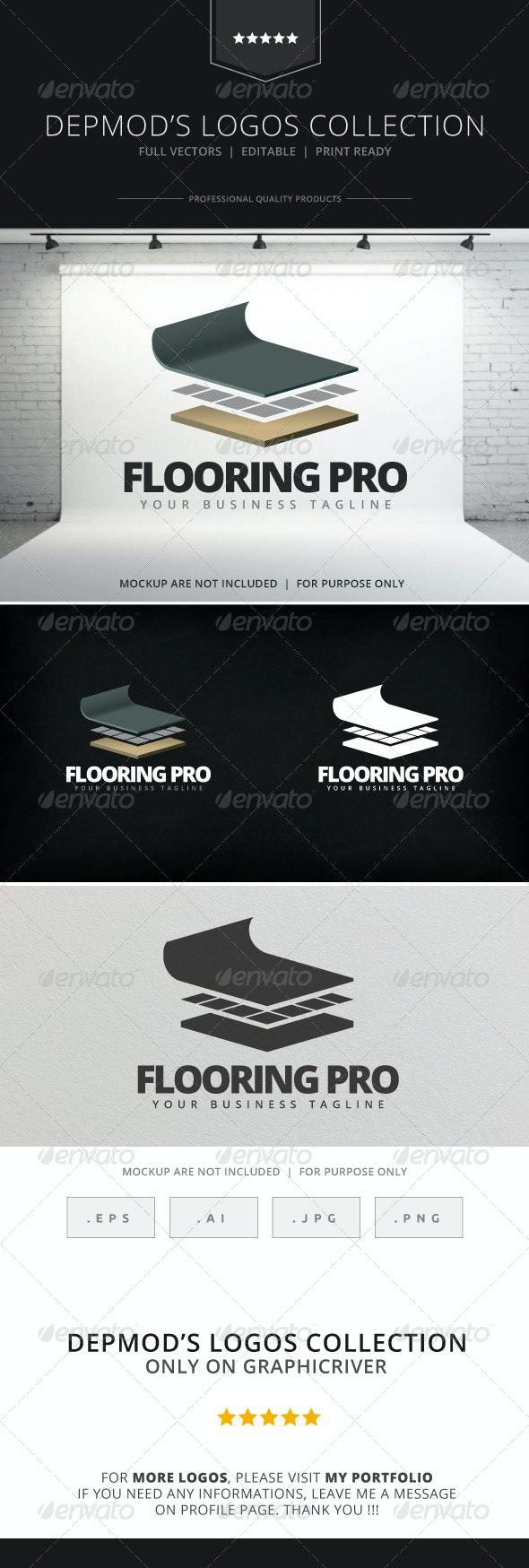Flooring Pro Logo - Objects Logo Templates