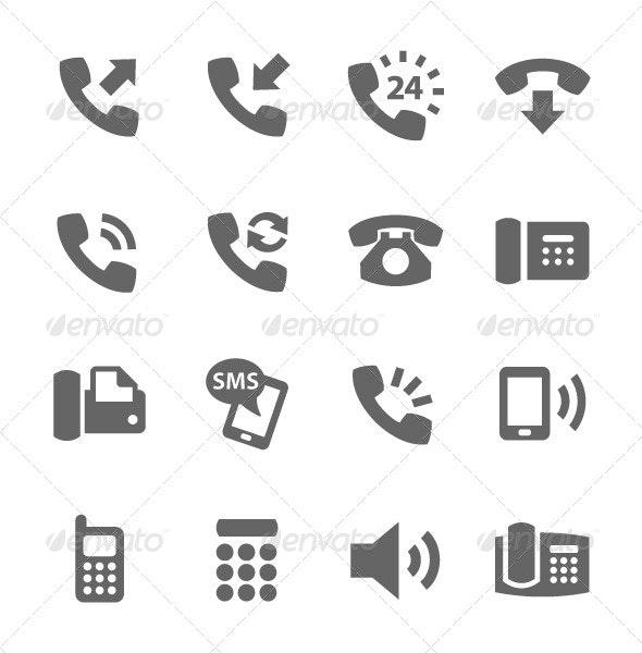 Phone Icons - Icons