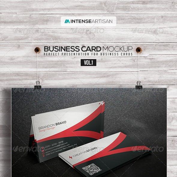 Business Card Mockup V.1