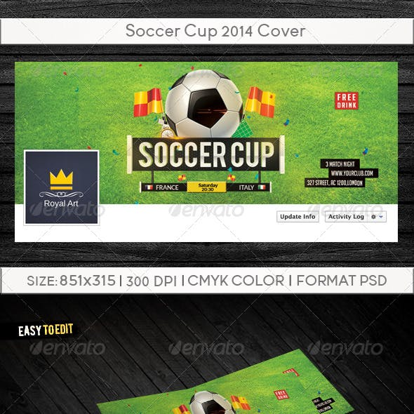 Soccer Cup 2014 Cover