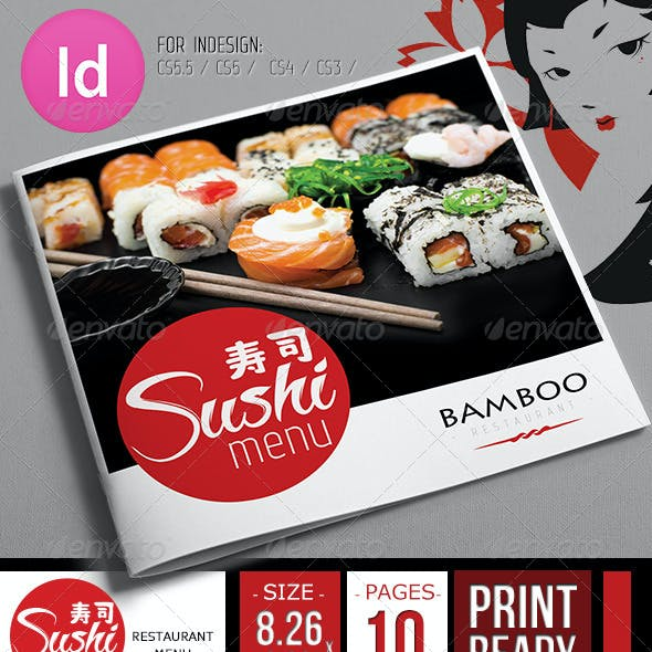 Fresh Sushi Restaurant Menu