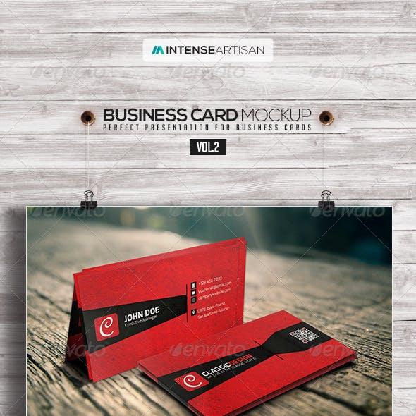 Business Card Mockup V.2