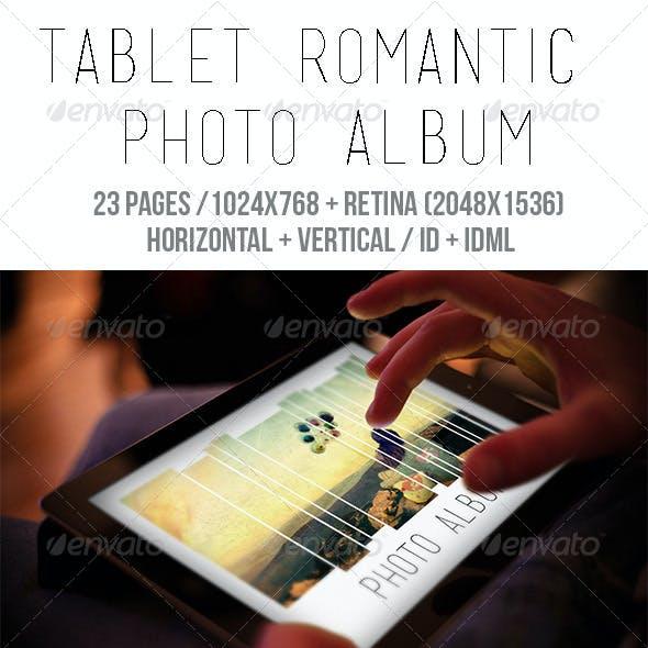iPad & Tablet Romantic Photo Album