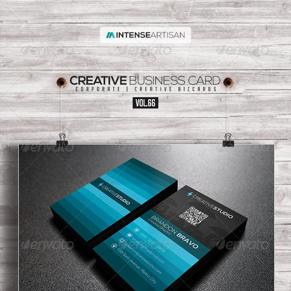 IntenseArtisan Business Card Vol.66