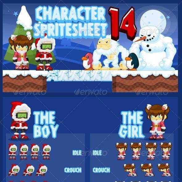 Characters Spritesheet 14