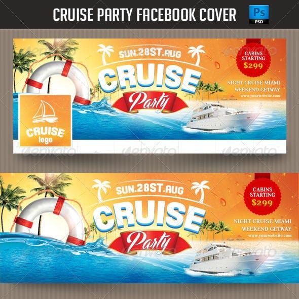 Cruise Party Facebook Cover