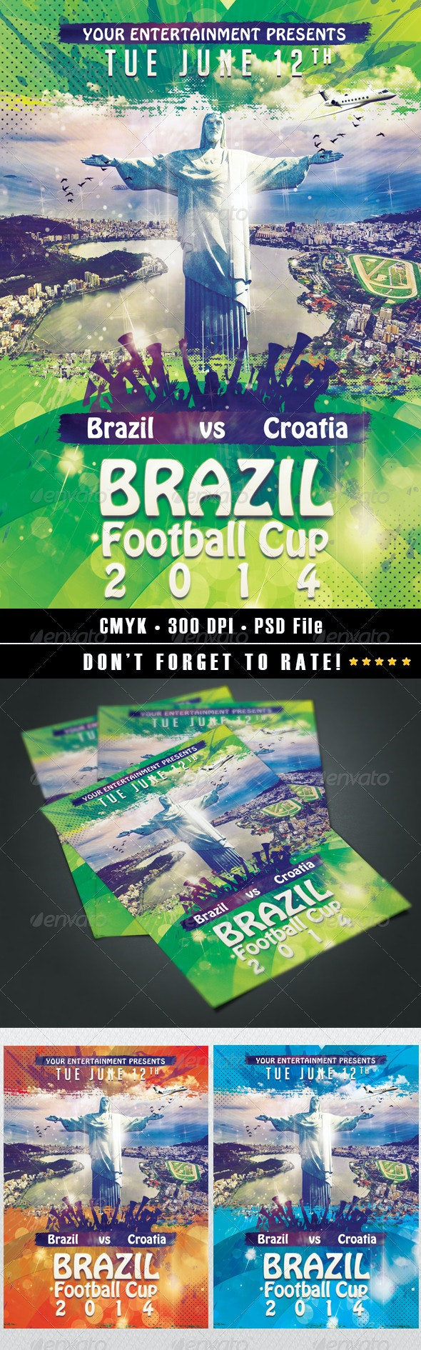 Brazil Football Cup 2014 - Sports Events