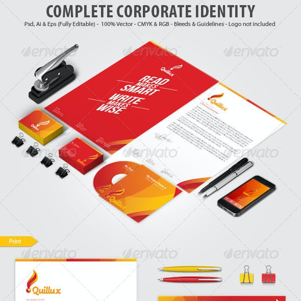 Quillux Corporate Identity Print Template
