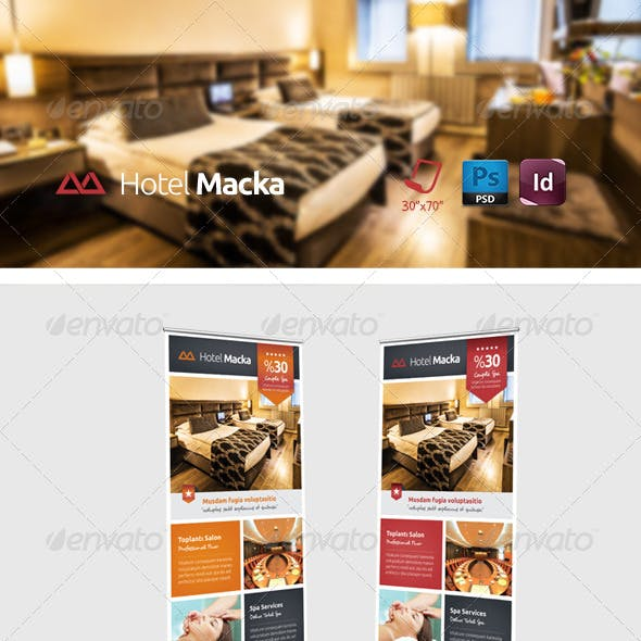 Hotel Roll-up Templates