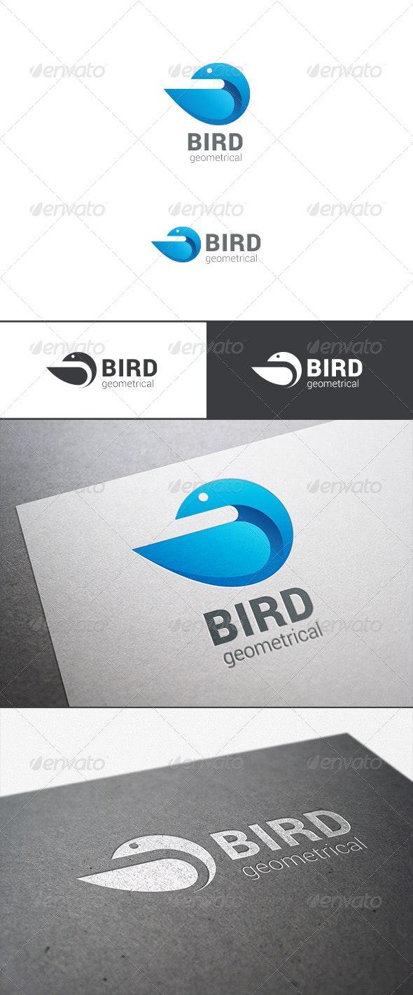 Logo Bird Abstract Geometrical - Animals Logo Templates