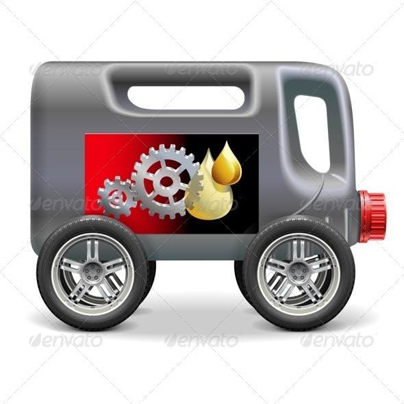 Motor Oil on Wheels