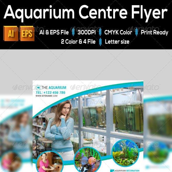 Aquarium Centre Flyer