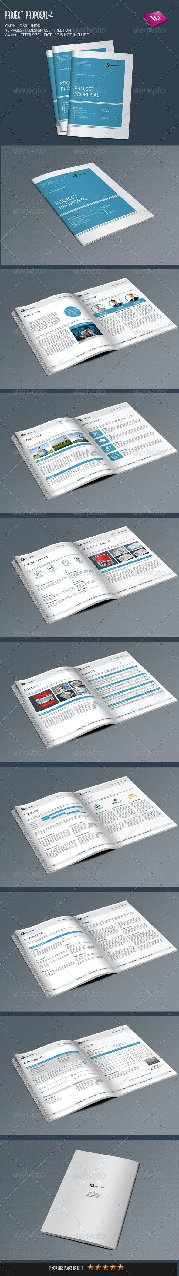 Project Proposal-4 - Proposals & Invoices Stationery