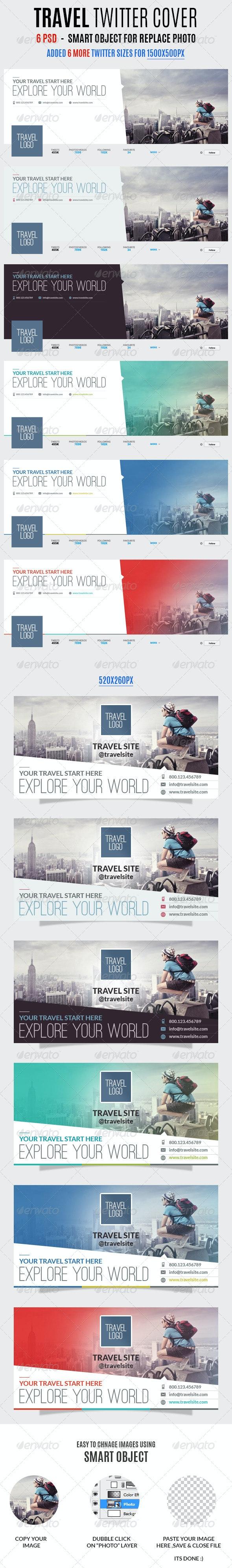 Travel Twitter Covers - Twitter Social Media