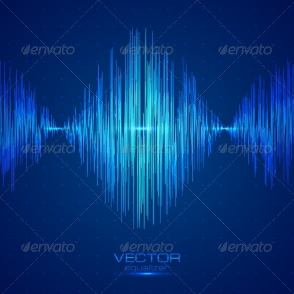 Blue Vector Equalizer