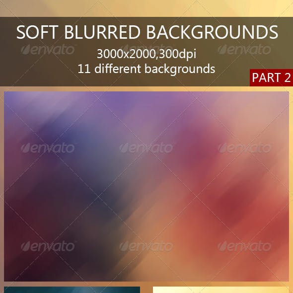 Soft Blurred Backgrounds 2