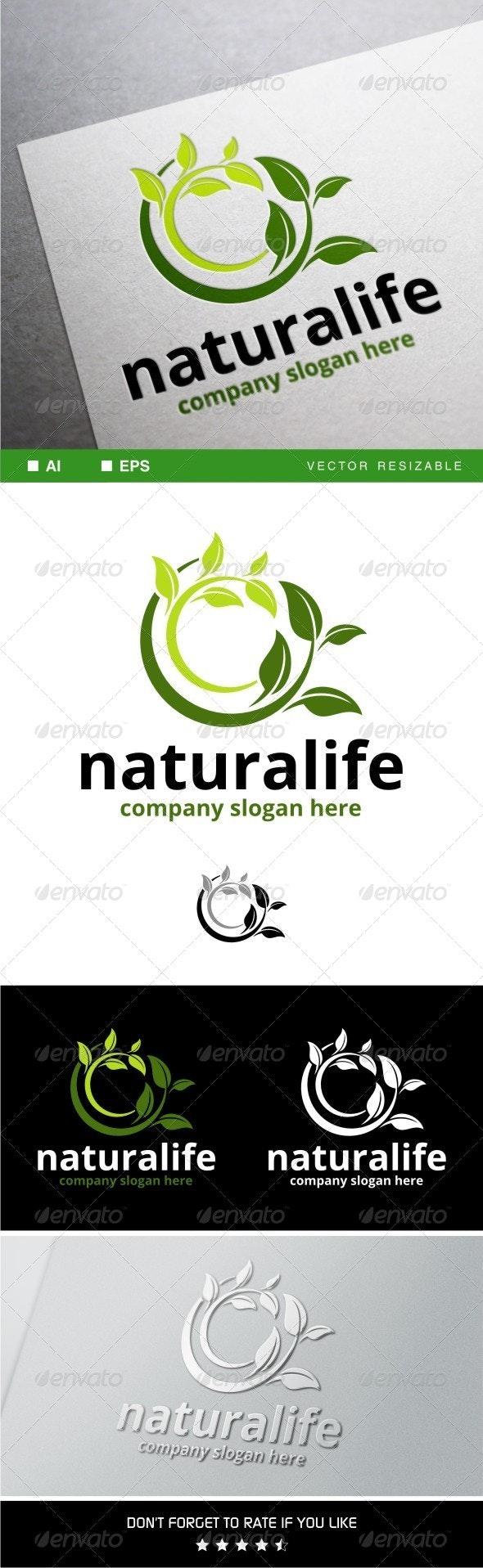 Naturalife Logo Template - Nature Logo Templates