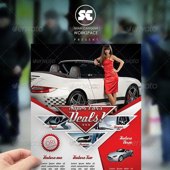 Car Flyer / Magazine Ads