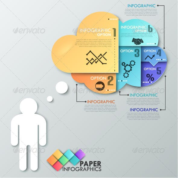 Paper Infographic Template