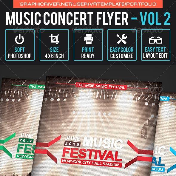 Music Concert Flyer Volume 2