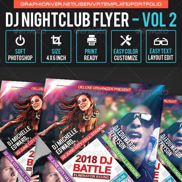 DJ NightClub Flyer Volume 2