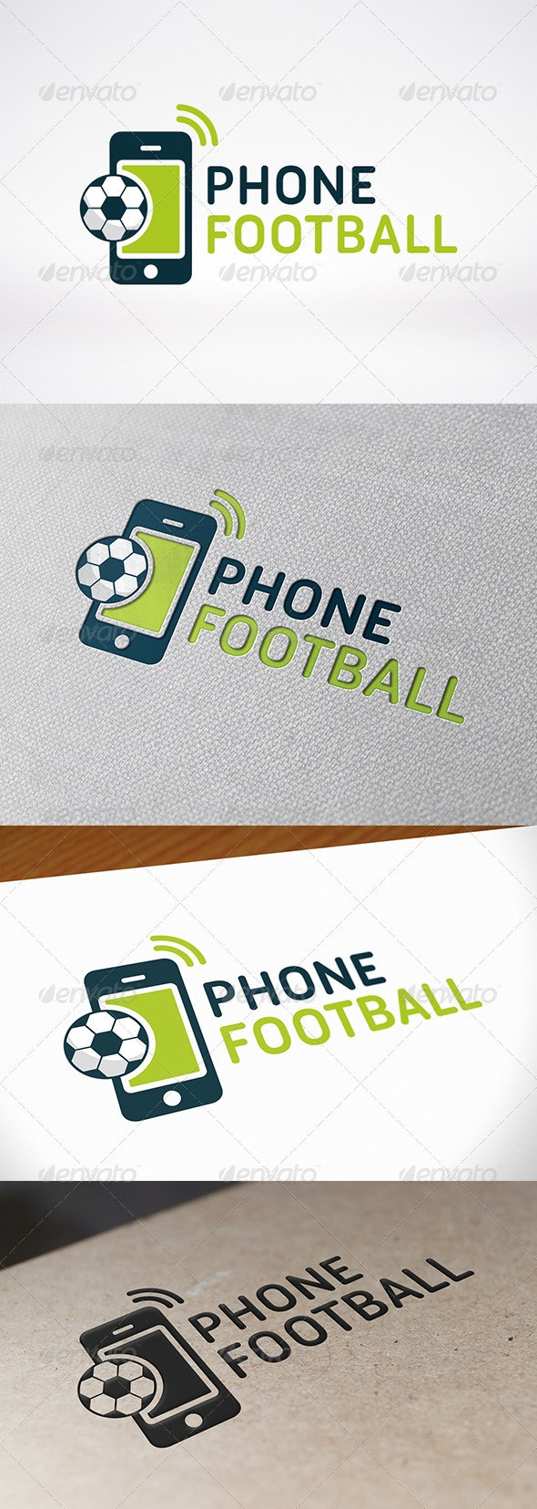 Football Phone Logo Template