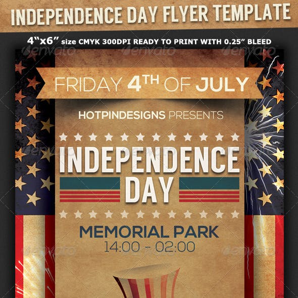 4th of July/Independence Day Flyer
