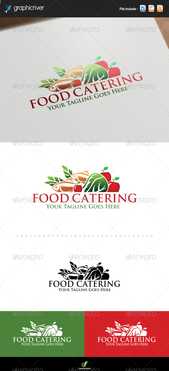 Food Catering Logo - Food Logo Templates
