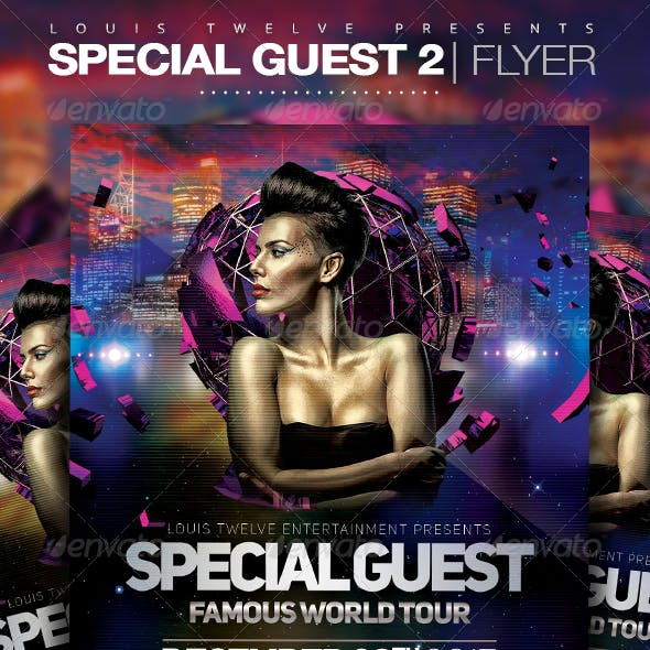 Special Guest 2 | Flyer Template