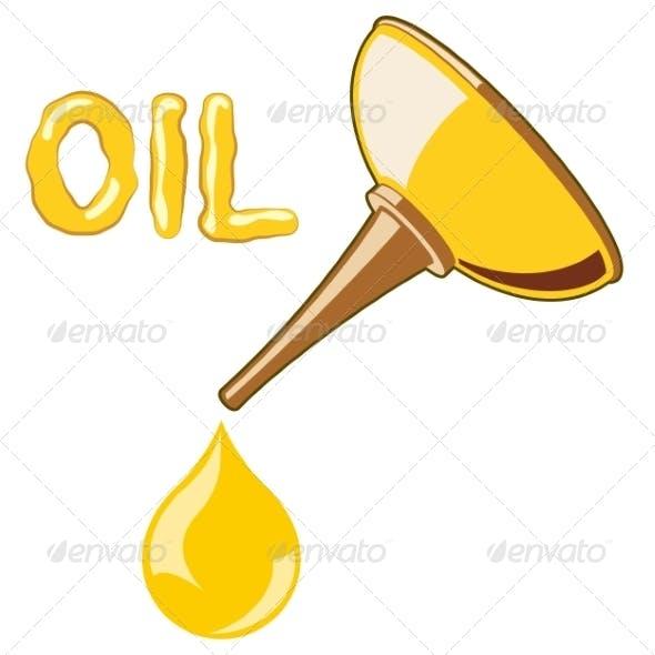 Oil Lubricator with Oil
