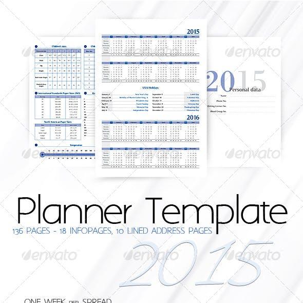 Planner-Diary-Organizer 2015 v2