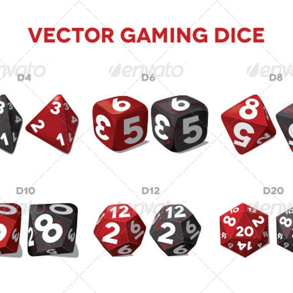 Vector Gaming Dice