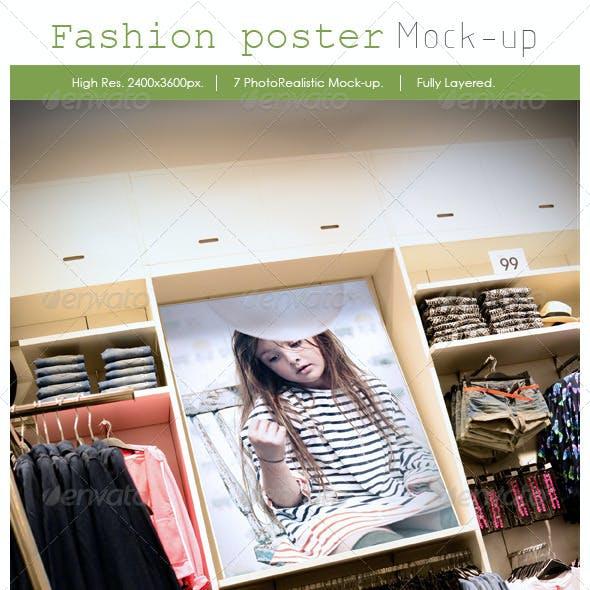 Fashion Poster Mockup