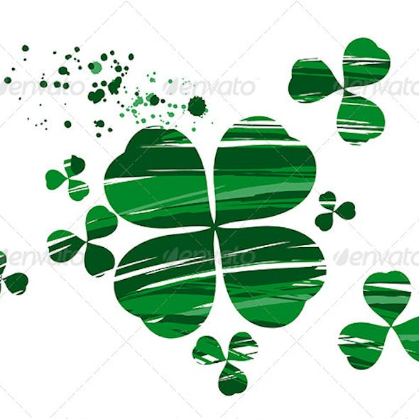 Clover with Paint