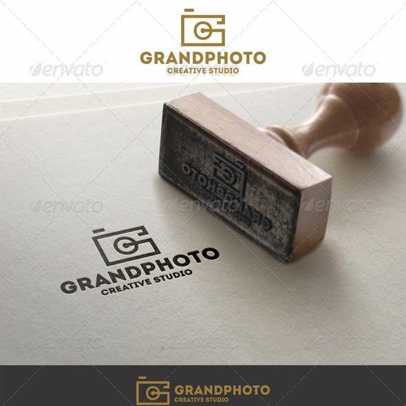 Grand Photo Logo G Letter