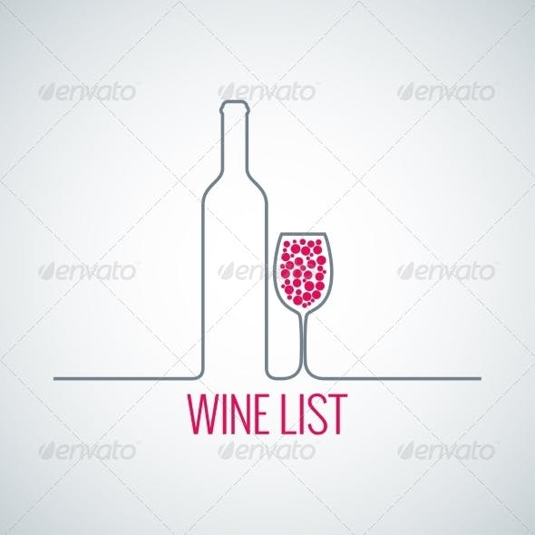 Wine List Background