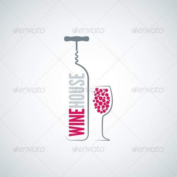 Wine House Background