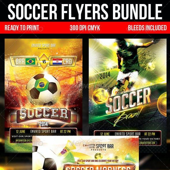 Soccer Flyers Bundle
